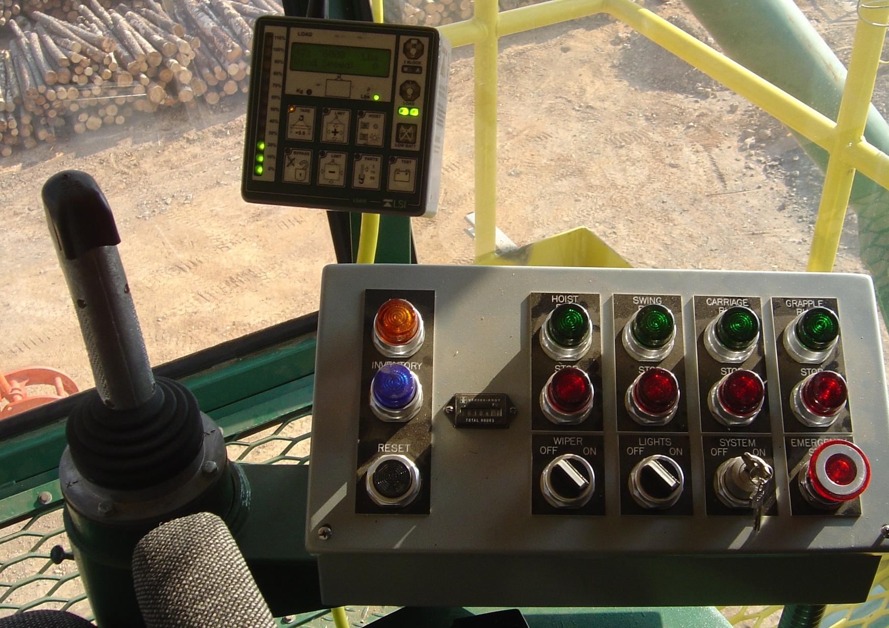 Crane controls