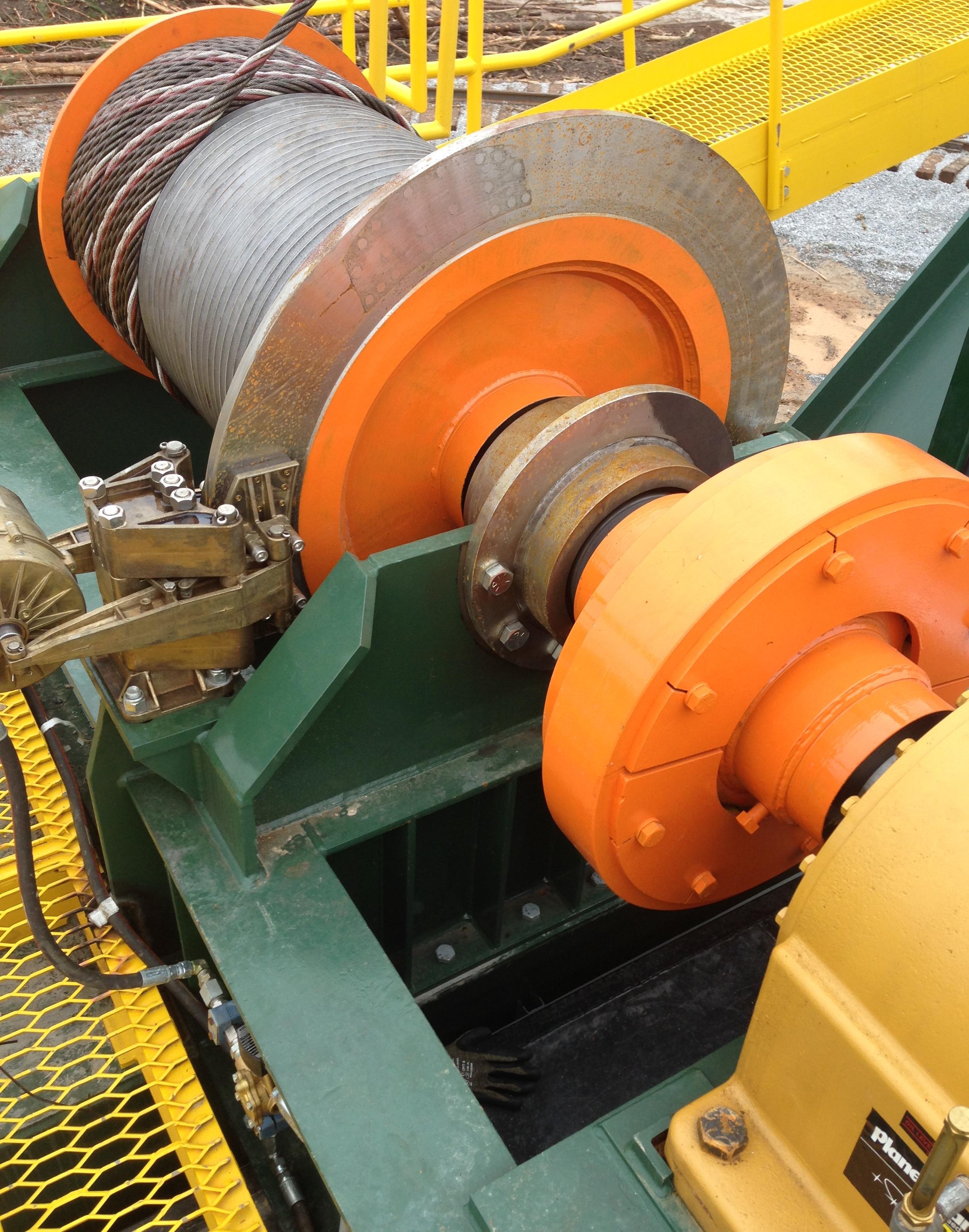 Hoist with Failsafe brake