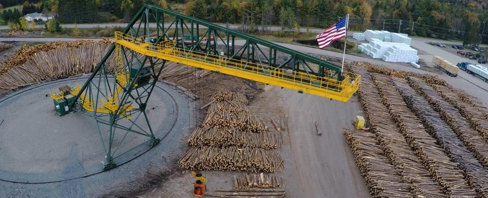 Rotary Log Cranes